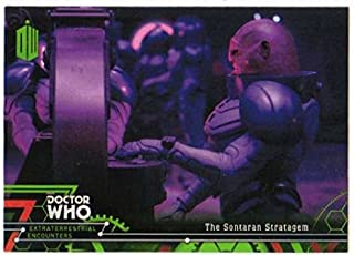 2016 Topps Doctor Who Exraterrestrial Encounters #79 The Sontaran Stratagem