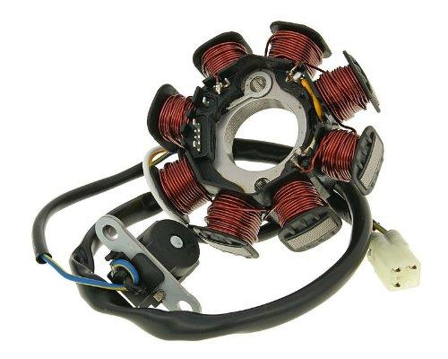 2EXTREME Lichtmaschine Stator für Kymco Super 8 50 2T, Top Boy 50, Yager 50
