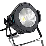 BETOPPER DJ Par Light Led Par Can DJ disc Lavado de luces 100W COB DJ Wash Par Lights Super brillante LED Iluminación de escenario para Iglesia Hogar Piscina Boda, etc