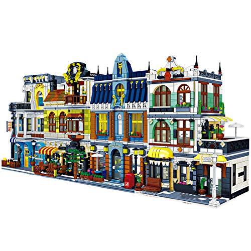 BGOOD Zhe Gao Modular Buildings 5157 Bloques de construcción para casa, construcción modular con figuras, arquitectura, casas, modelo compatible con Lego