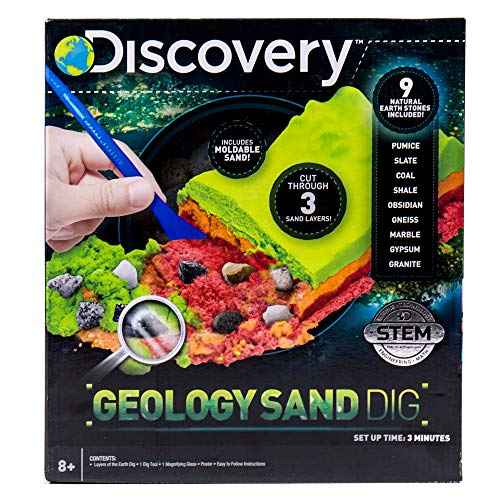 Discovery Layers of The Earth Geology Sand Dig Kit by Horizon Group USA