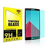 cogac ACTECOM® Cristal Templado Compatible con LG G4 Protector Pantalla 0.2MM