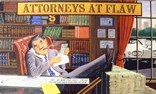 Attorneys at Flaw  The Game of Courtroom Piracy Board Game by Windbreaker Entertainment