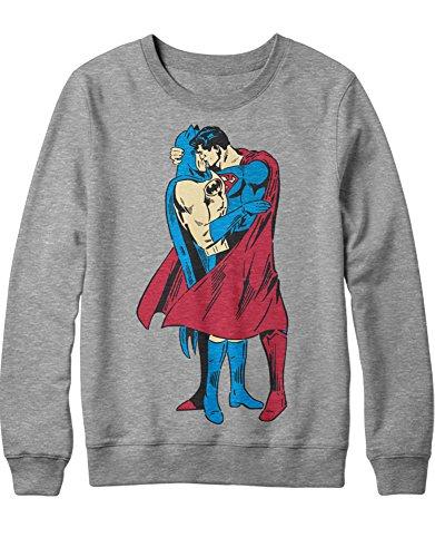Sweatshirt Bat and Super IN Love H549932 Grau S