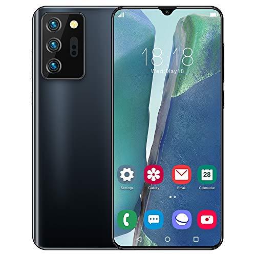 スマートフォン本体 6.6インチHD スマートフォン 本体8.0MP HDカメラ 5000mAh大型バッテリー 12GB RAM + 512GB ROM 顔認証 Android8.0スマホ 本体