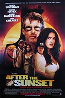After The Sunset Single-Sided International 27x40 Original Movie Poster