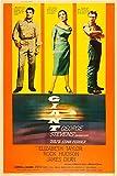 Posterazzi Giant Rock Hudson Elizabeth Taylor James Dean 1956 Movie Masterprint Poster Print, (11 x 17)