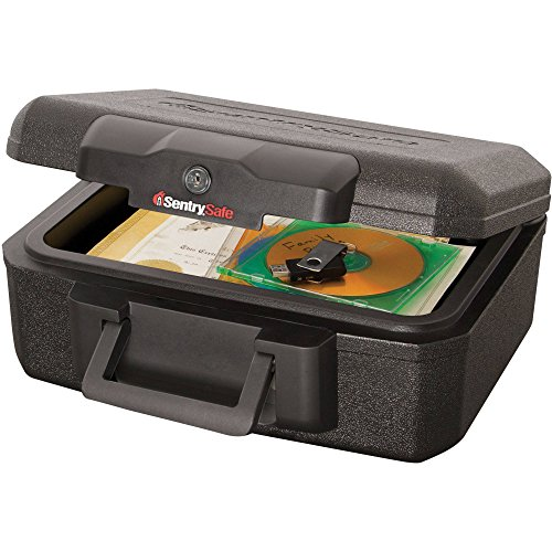 SentrySafe 1200 Fire Safe Lock Box. Protects Your Family's Most Important Paper Documents, Media And Valuables From Fire Damage.