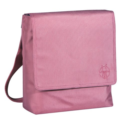 Casual luiertas Classic Saddle Bag, metallic roze