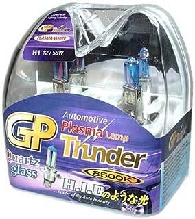 GP Thunder H1 8500k 55W Xenon Plasma-White Quartz Glass Bulbs (Ion coating) for Fog Light -High Beam - Low Beam SGP85K-H1