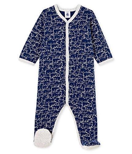 Petit Bateau Dors Bien Y_5001301 Pyjama, Multicolore (Major/Marshmallow 01), 92 (Taille Fabricant: 24M/86centimeters) Bébé garçon