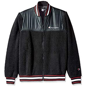 Champion LIFE Men's Sherpa Baseball Jacket