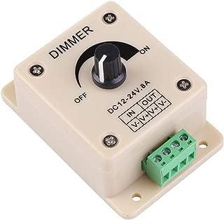 Aveks LED wholesalers LED Strip Lights PWM Dimming Controller For LED Lights or Ribbon, 12 Volt 8/10 Amp, 3301