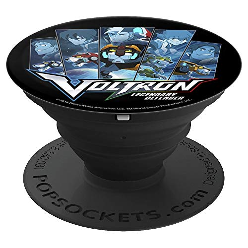 Voltron: Legendary Defender The Paladins And Lions PopSockets Grip and Stand for Phones and Tablets