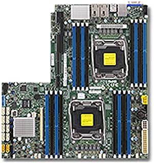 Supermicro X10DRW-iT Placa Base para - Servidor (Intel, LGA 2011 (Socket R), 9.6 GT/s, 145 W, E5-2600, DDR4-SDRAM)