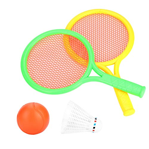 Duokon Racchetta da Tennis per Ragazzi, Racchetta da Tennis per Badminton Outdoor Indoor Baby Children Gioco Sportivo educativo Regali Giocattoli Set