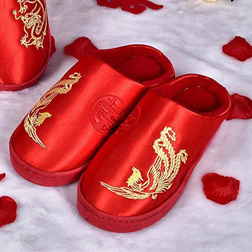 B/H Zapatillas de Estar por casa para Mujer Zapatillas de Boda para...