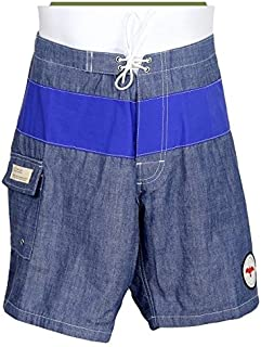 efde159921 Apolis for J Crew Men's Chambray Men's Swim Trunks Size 36 Inch ...