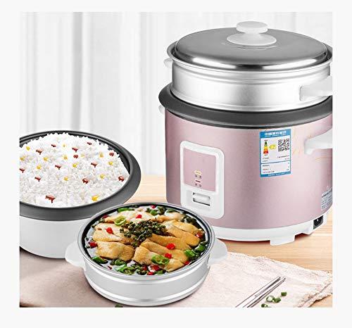 MOOLUNS Accueil Keep Warm Rice Cooker, 5L Grande capacité antiadhésive, de Haute qualité en Alliage d'aluminium Liner, Un clic de Cuisine,4L