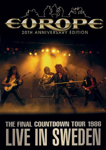 DVD-Final Countdown Tour Live In Sweden