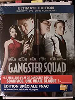 Gangster Squad - Exklusive FNAC Ultimate Edition im Digipack Combo (inkl. Deutsche Tonspur + 32 seitigem Booklet) DVD - Blu-ray