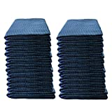 US Cargo Control Pro Mover Furniture Moving Pads - 80 Inches Long By 72 Inches Wide - Blue Moving Blankets - Cotton/Polyester Blend Fabric - 82 Pounds Per Dozen - Washable and Reusable - 24 Pack