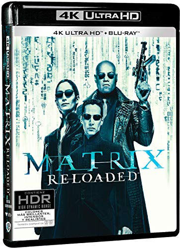 Matrix Reloaded 4k UHD [Blu-ray]