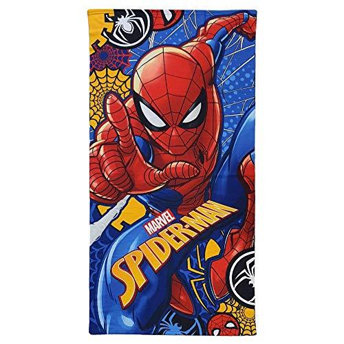 Generico Telo Mare Spiderman Marvel Asciugamano in MICROCOTONE CM. 140X70 100%PL - SP074