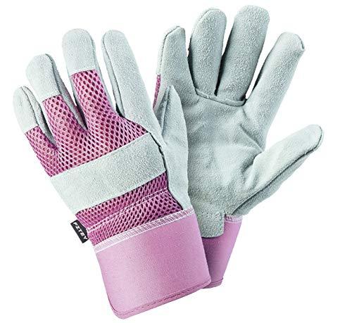 FZTEY Brambles Nettles Rose Gardening Gloves For Ladies Women 9Large Pink