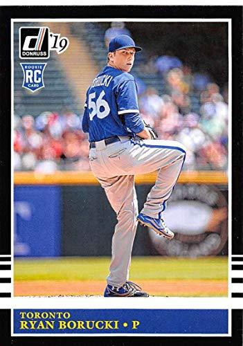2019 Donruss Baseball #227 Ryan Borucki Toronto Blue Jays RC Rookie Card Panini Trading Card