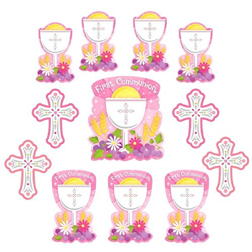 Amscan First Communion Value Pack Cutouts, Multi Sizes, Multicolor