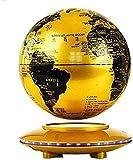 THj Globo del Mundo Flotante, Globo de levitación magnética Globos de Tierra giratorios Bola de Tierra levitante antigravedad para niños año Nuevo