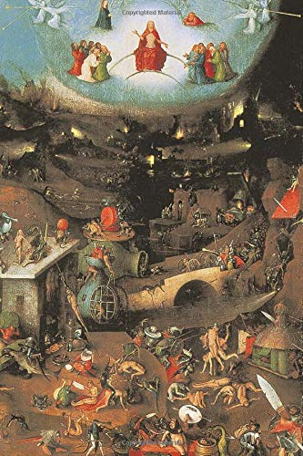 "Hieronymus Bosch Journal #4: Cool Artist Gifts - The Last Judgement Hieronymus Bosch Notebook Journal To Write In 6x9"" 150 Lined Pages"