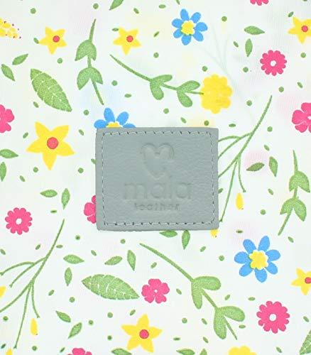 Mala Leather Sophia Collection Soft Leather Tri Fold Purse RFID 3514_42 Black