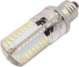 X-DREE AC200V-240V SMD LED Corn Light Bulb Silicone Lamp Waterproof 64-LED Dimmable E11 3014 Neutral White (6e083d31-a222-...