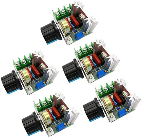AC 50 220V 2000W 25A Motor Speed Controller SCR High power Electronic Voltage Regulator Module product image