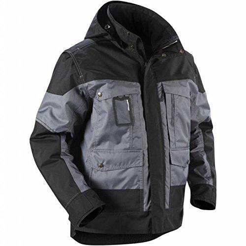 Blåkläder Workwear Giacca invernale con cappuccio'4886', grigio/nero, XXL, 1 pezzo, 67-48861977-9499-XXL