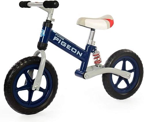 GSDZSY - Kinder Laufrad Lauflernrad Kinderrad, Mit Stoßdämpferfahrrad, Für Kinder Von 1-6 Jahren,Blau