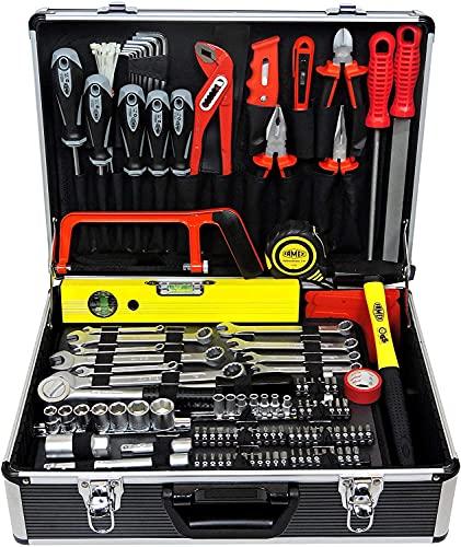 FAMEX 745-49 Universal Werkzeugkoffer 119-/ insgesamt 162-tlg
