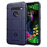 XMTON Custodia Compatibile con LG G8s ThinQ 6.2',Silicio TPU Armor Cover Custodia con Tecnologia Air Cushion Antiurto Protezione Case per LG G8s ThinQ Smartphone (Blu)