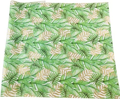Palm Tree Tropical Tissue Paper 20 Inch x 30 Inch Sheets Bulk Pack of 20 product image