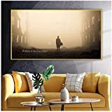 Si no hay Chernobyl Art Wall Art Painting Nordic Posters and Prints Wall Pictures para la decoracin de la sala de estar -50x90cm Sin marco