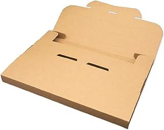 アリアケ梱包 メール便ケース A5厚さ2cm クロネコDM便 ネコポス ゆうパケット クリックポスト ダンボール 梱包箱 (50枚セット)