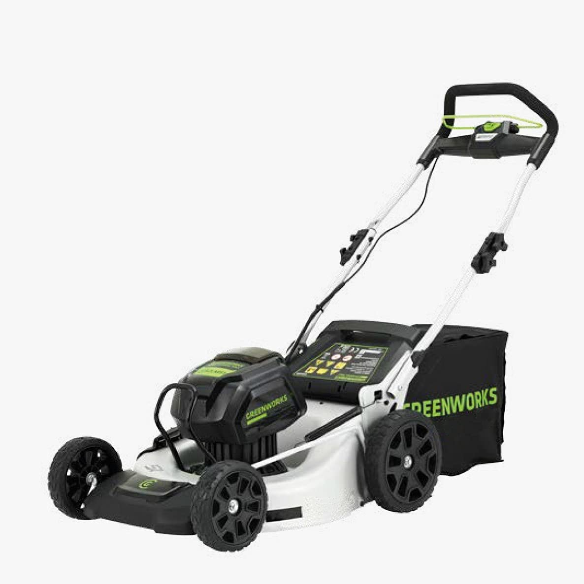 GreenWorks Cortacésped a batería de 82 V.