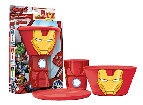 Stacking Meal Set - Iron Man (Avengers)