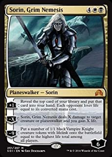 Magic: the Gathering - Sorin, Grim Nemesis (251/297) - Shadows Over Innistrad - Foil