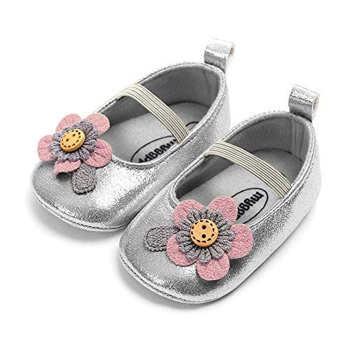 Baby Girl Moccasins Princess Sparkly Premium...