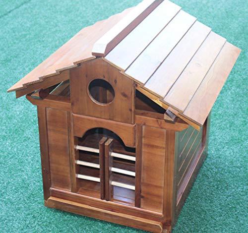 Kleine hondenhok houten hondenmand kennel luxe hondenhok voor buiten huisdierbenodigdheden kennel