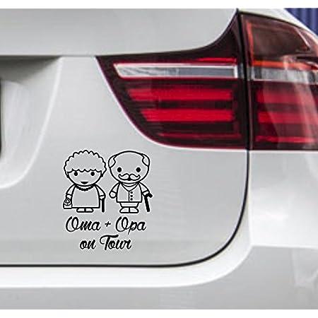 Auto Aufkleber In Deiner Wunschfarbe Enkeltaxi Oma Opa Kids Kinder 20x18 Cm Autoaufkleber Sticker Folie Auto