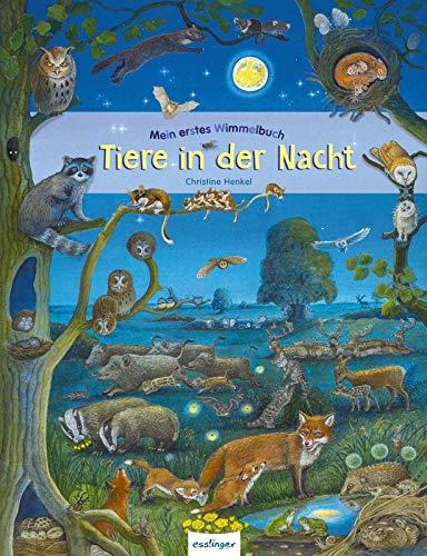 Tiere in der Nacht (Mein erstes Wimmelbuch)